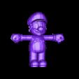 mario4_frente.stl Download free STL file Mario Bros • 3D printing model, Loustic3D888