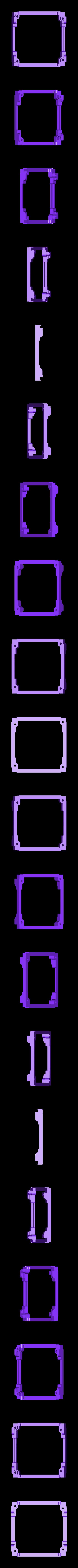 Frame_UpperPlate.stl Download free STL file ArduSat • 3D printing template, Loustic3D888