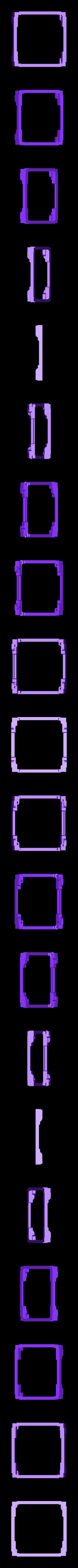 Frame_LowerPlate.stl Download free STL file ArduSat • 3D printing template, Loustic3D888