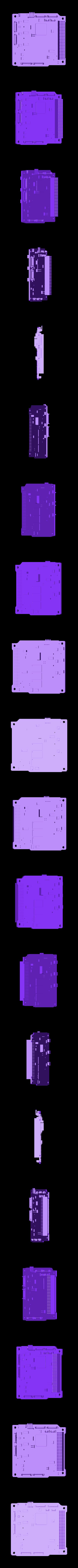 FlightComputer.stl Download free STL file ArduSat • 3D printing template, Loustic3D888