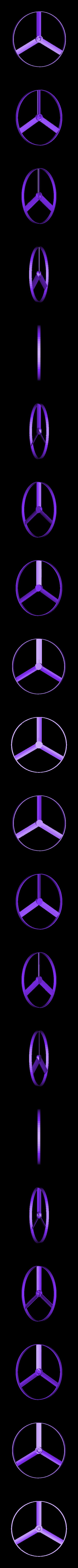 whirligig_thin_quick.stl Télécharger fichier STL gratuit Whirligig Flying Spinner - Mouches 10 m (30 ft) • Plan à imprimer en 3D, FunnyJohnnyPrinter