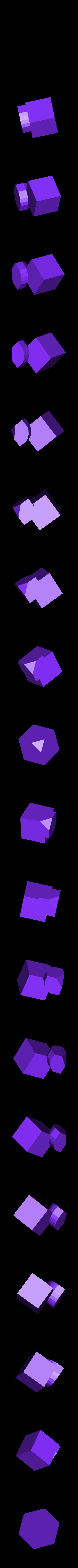 corner_v2_scaled.stl Télécharger fichier STL gratuit Rubik's Magic Cube • Design à imprimer en 3D, Jimmydelgadinho45