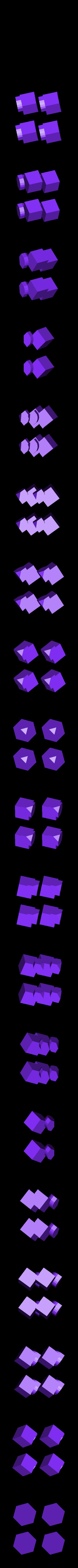 4x_corner.stl Télécharger fichier STL gratuit Rubik's Magic Cube • Design à imprimer en 3D, Jimmydelgadinho45