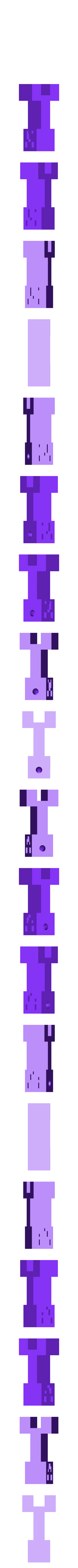 Minecraft_Creeper__Keychain_Nudel_v2_face1.0.stl Download free STL file Minecraft Creeper Keychain • 3D printing design, Jimmydelgadinho45