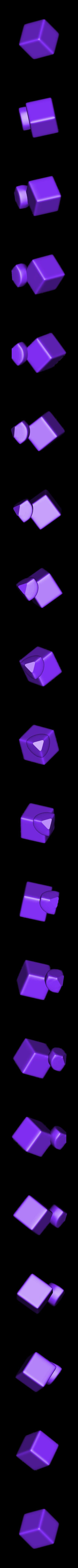 corner_v4.stl Télécharger fichier STL gratuit Rubik's Magic Cube • Design à imprimer en 3D, Jimmydelgadinho45