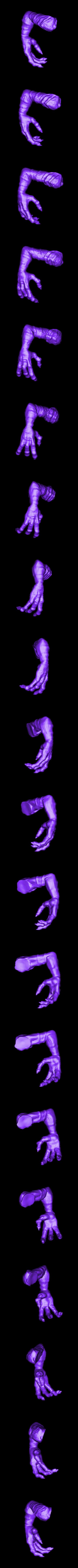 Stripe_right_arm.stl Download free STL file Stripe Gremlin • 3D printer model, 3rdesignworks