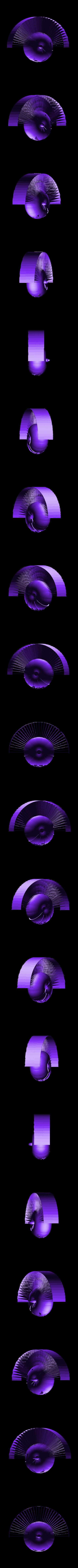 calabazasinpelo1.stl Download free STL file Hairy Pumpkin • 3D printer model, sketchprint3d