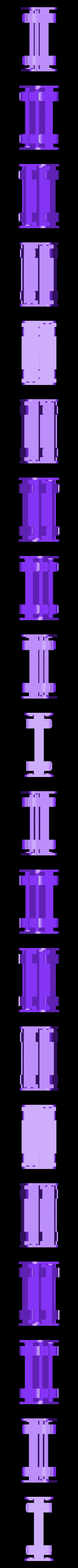 4_x_aa_battery_holder_v1_v1.stl Télécharger fichier STL gratuit 4x support de pile AA / boîtier • Modèle à imprimer en 3D, 3DED