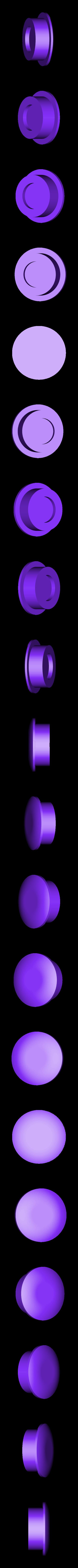Magnet_Cap_inside_tube_10x1.8mm_v1.stl Télécharger fichier STL gratuit Porte-serviettes en papier GRAB et GO. (Pour montage mural ou sur panneau IKEA !) • Design imprimable en 3D, 3DED