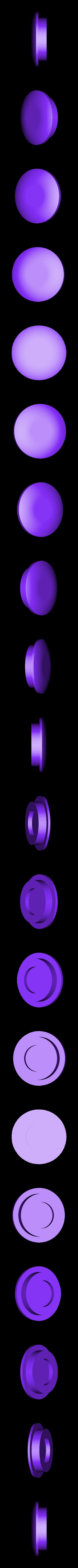 MagnetCap_wall_bracket_10x1.8mm_v1.stl Télécharger fichier STL gratuit Porte-serviettes en papier GRAB et GO. (Pour montage mural ou sur panneau IKEA !) • Design imprimable en 3D, 3DED