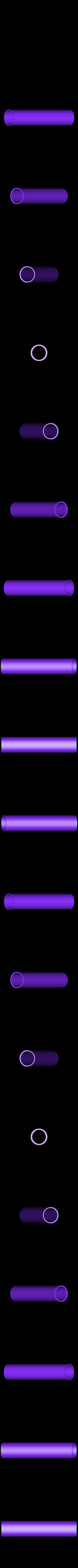 Tube_V1.stl Télécharger fichier STL gratuit Porte-serviettes en papier GRAB et GO. (Pour montage mural ou sur panneau IKEA !) • Design imprimable en 3D, 3DED
