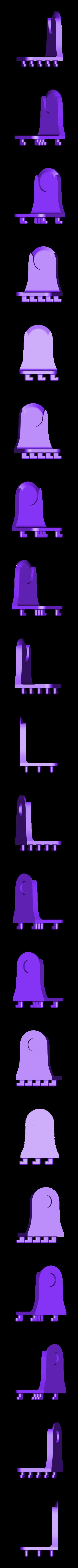 Right_Pegboard_Holder_V1.stl Télécharger fichier STL gratuit Porte-serviettes en papier GRAB et GO. (Pour montage mural ou sur panneau IKEA !) • Design imprimable en 3D, 3DED
