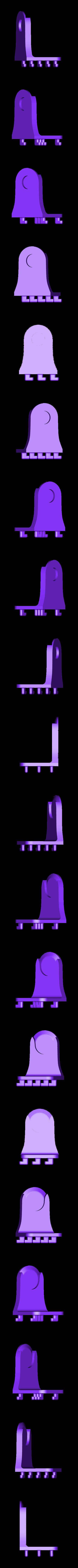 Left_Pegboard_Holder_V1.stl Télécharger fichier STL gratuit Porte-serviettes en papier GRAB et GO. (Pour montage mural ou sur panneau IKEA !) • Design imprimable en 3D, 3DED