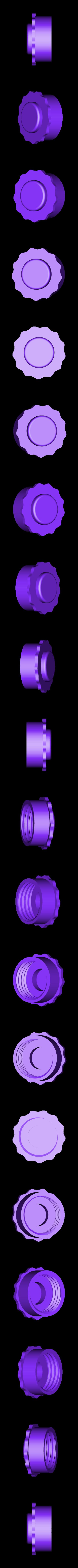 Leftandrightendcap_v2.stl Télécharger fichier STL gratuit Porte-serviettes en papier GRAB et GO. (Pour montage mural ou sur panneau IKEA !) • Design imprimable en 3D, 3DED