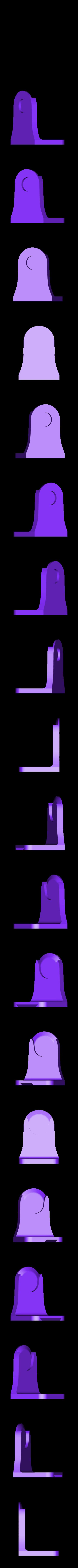 Kitchen_towel_holder_Wall_mount_v1.stl Télécharger fichier STL gratuit Porte-serviettes en papier GRAB et GO. (Pour montage mural ou sur panneau IKEA !) • Design imprimable en 3D, 3DED