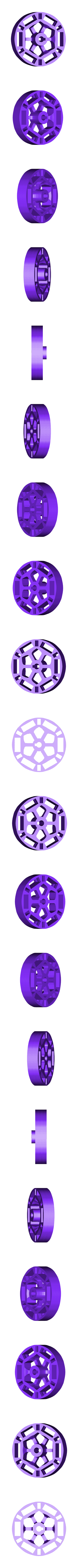 Flywheel.STL Download free STL file Working Oscillating Steam Engine MKI • Object to 3D print, billythemighty3Dprinter