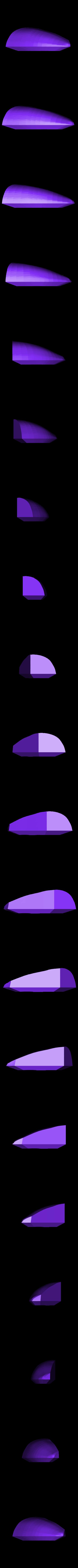 Lightcycle_Window_Left.STL Télécharger fichier STL gratuit Kit modèle Lightcycle • Objet pour impression 3D, billythemighty3Dprinter