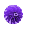 Dremel_Impeller.STL Download free STL file Dremel Turbine • 3D printing model, Kellywatchthestars