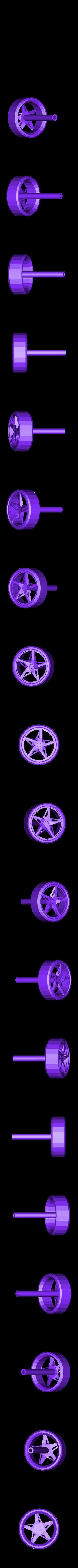 Ferrari_Part_6_Front_left_Wheel_repaired.stl Télécharger fichier STL gratuit Kit modèle Ferrari 458 • Modèle pour impression 3D, AliSouskian