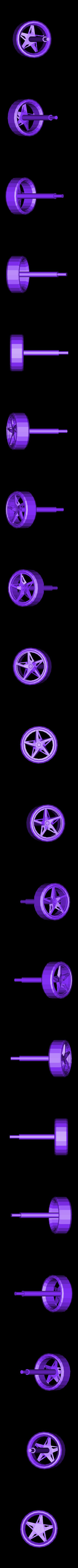 Ferrari_part_7_Front_Right_Wheel_repaired.stl Télécharger fichier STL gratuit Kit modèle Ferrari 458 • Modèle pour impression 3D, AliSouskian