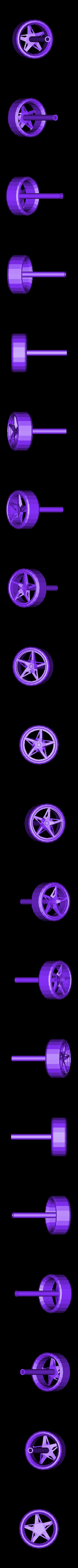 Ferrari_Part_8_Back_left_Wheel_repaired.stl Télécharger fichier STL gratuit Kit modèle Ferrari 458 • Modèle pour impression 3D, AliSouskian