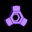 SnapOn_Wingnut.STL Download free STL file WingNut • 3D printer object, JeremyRonderberg93