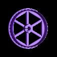 Chandelier_PrusamentSpool_Dominik Cisar_TOP.stl Download free STL file CHANDELIER - PRUSAMENT SPOOL - reuse idea • 3D printing template, cisardom