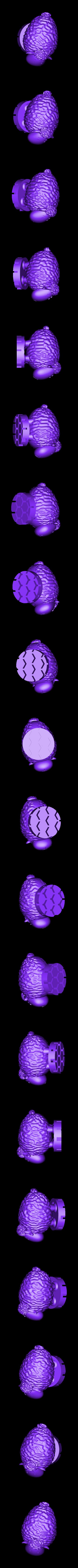 Zoetrope_Prusament Spool_by Dominik Cisar_Sheep 07.stl Download free STL file SPIROGRAPH - PRUSAMENT SPOOL - reuse idea • 3D print model, cisardom