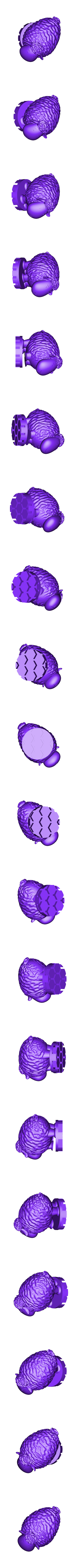 Zoetrope_Prusament Spool_by Dominik Cisar_Sheep 08.stl Download free STL file SPIROGRAPH - PRUSAMENT SPOOL - reuse idea • 3D print model, cisardom