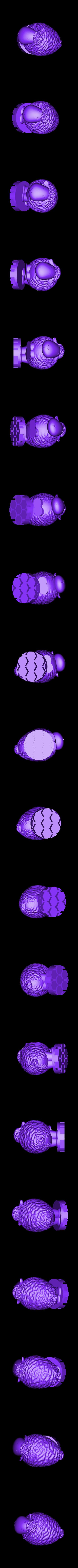 Zoetrope_Prusament Spool_by Dominik Cisar_Sheep 10.stl Download free STL file SPIROGRAPH - PRUSAMENT SPOOL - reuse idea • 3D print model, cisardom
