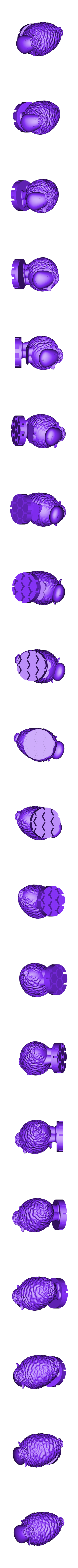 Zoetrope_Prusament Spool_by Dominik Cisar_Sheep 09.stl Download free STL file SPIROGRAPH - PRUSAMENT SPOOL - reuse idea • 3D print model, cisardom