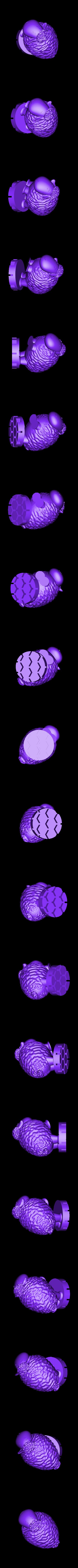 Zoetrope_Prusament Spool_by Dominik Cisar_Sheep 11.stl Download free STL file SPIROGRAPH - PRUSAMENT SPOOL - reuse idea • 3D print model, cisardom