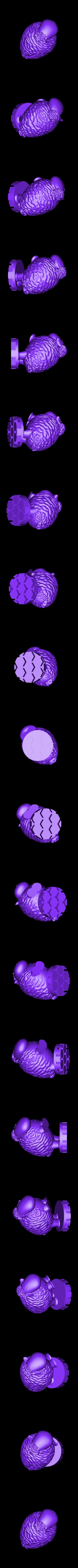 Zoetrope_Prusament Spool_by Dominik Cisar_Sheep 02.stl Download free STL file SPIROGRAPH - PRUSAMENT SPOOL - reuse idea • 3D print model, cisardom