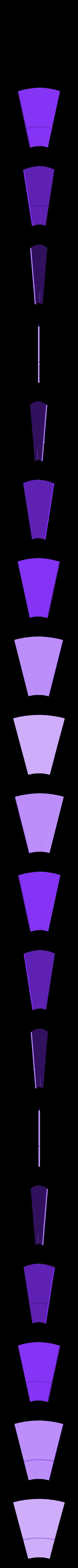 Windmil Prusament Spool_By Dominik Cisar_Blade.stl Download free STL file WINDMILL - PRUSAMENT SPOOL - reuse idea • 3D printer model, cisardom