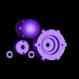 Windmil Prusament Spool_By Dominik Cisar_Shaft.stl Download free STL file WINDMILL - PRUSAMENT SPOOL - reuse idea • 3D printer model, cisardom