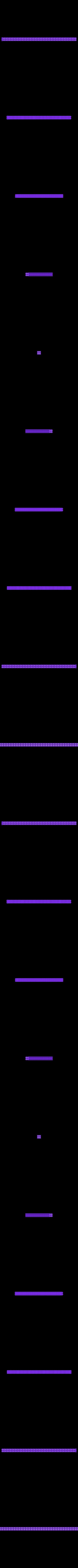 antiwarp_long_pole_2x2.stl Download free STL file Anti-Warping Block, Truncated Octahedrons • Model to 3D print, zootopia3Dprints