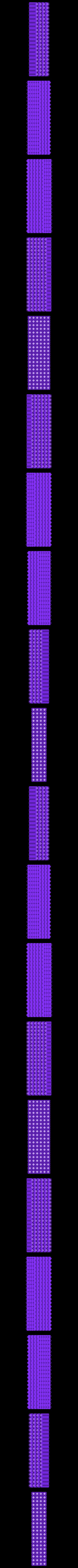 antiwarping_d10w08x4y20z6a0.stl Download free STL file Anti-Warping Block, Truncated Octahedrons • Model to 3D print, zootopia3Dprints