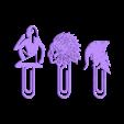 group.stl Télécharger fichier STL gratuit Signet de lecture ( 3 clips) • Design imprimable en 3D, 3dprintlines