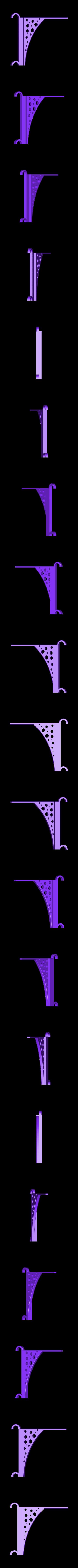 support linge.STL Télécharger fichier STL gratuit Support sèche linge  • Plan imprimable en 3D, julienvd2525