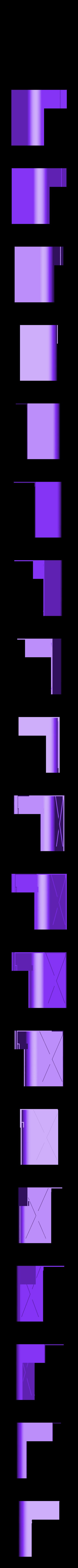 left_front_up.stl Télécharger fichier STL gratuit wanhao D7 boîtier, couvercle, couvercle, couvercle • Plan à imprimer en 3D, mariospeed