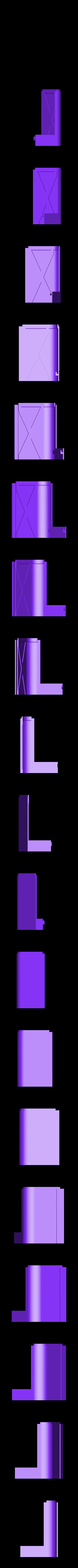 right_front_bottom.stl Télécharger fichier STL gratuit wanhao D7 boîtier, couvercle, couvercle, couvercle • Plan à imprimer en 3D, mariospeed
