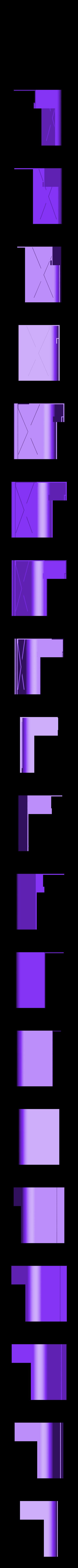 right_front_up.stl Télécharger fichier STL gratuit wanhao D7 boîtier, couvercle, couvercle, couvercle • Plan à imprimer en 3D, mariospeed