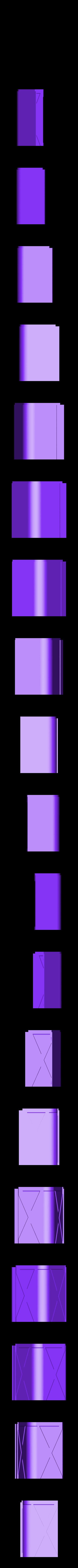 left_back_bottom.stl Télécharger fichier STL gratuit wanhao D7 boîtier, couvercle, couvercle, couvercle • Plan à imprimer en 3D, mariospeed