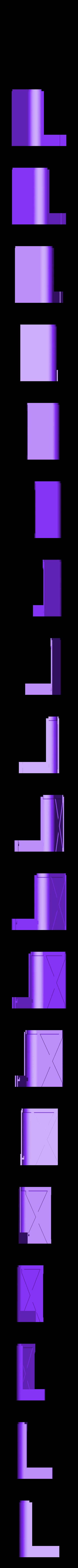 left_front_bottom.stl Télécharger fichier STL gratuit wanhao D7 boîtier, couvercle, couvercle, couvercle • Plan à imprimer en 3D, mariospeed