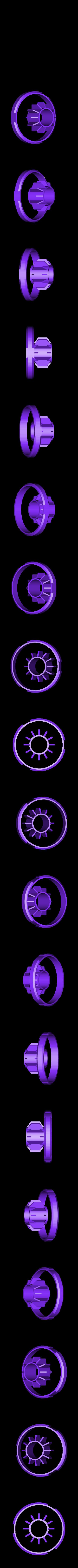 bhl-headlight-b.stl Download free STL file NeoPixel Bike Light • 3D printer template, Adafruit