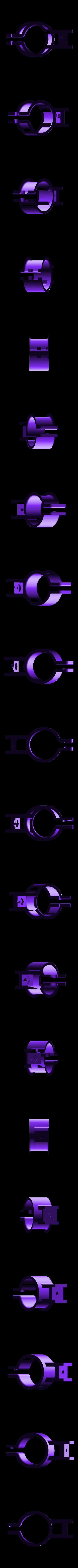 bhl-plate-clip.stl Download free STL file NeoPixel Bike Light • 3D printer template, Adafruit
