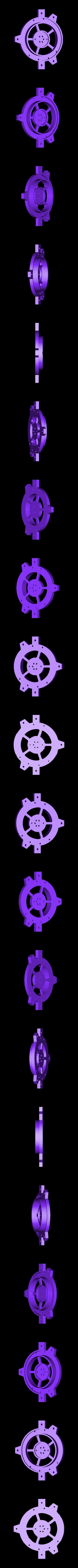 bhl-plate.stl Download free STL file NeoPixel Bike Light • 3D printer template, Adafruit