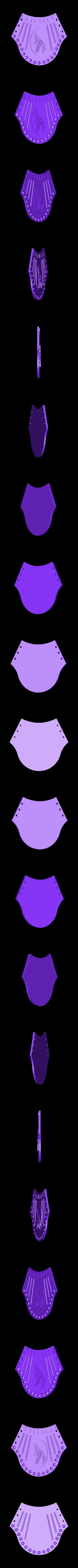Collier Egypt.stl Télécharger fichier STL gratuit Collier Egyptien - Egypt necklace • Plan à imprimer en 3D, serial_print3r