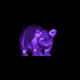 pig 3d.STL Download STL file Pig low poly • 3D printing model, 3dpark