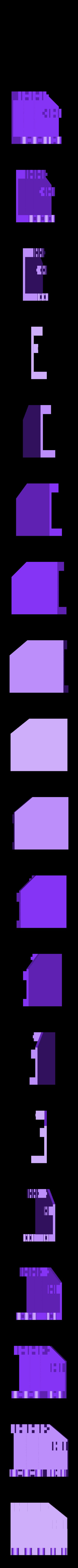 knife_rack2.stl Télécharger fichier STL gratuit Porte-couteaux • Design pour imprimante 3D, Jeypera3D
